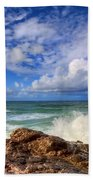 Toco Blues Beach Towel