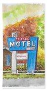 Toiyabe Motel In Walker, California Beach Towel