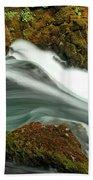 Toketee Falls 8 Beach Towel