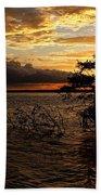Toledo Bend Sunset Beach Towel