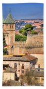 Toledo Town View Beach Towel