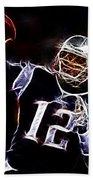 Tom Brady - New England Patriots Beach Towel