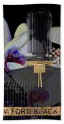 Tom Ford Black Orchid Beach Towel
