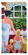 Tomato - Materphobia Beach Towel