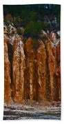 Tombs Land Formation Beach Towel