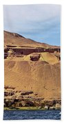 Tombs Of The Nobles Aswan Beach Towel