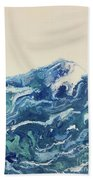 Too Blue Beach Towel