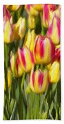 Too Many Tulips Beach Towel by Jeff Kolker