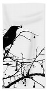 Top Bird Beach Towel