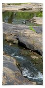 Top Of Noccalula Falls Beach Towel