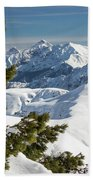 Top Of The Top - Lombardy / Italy Beach Towel
