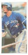 Toronto Blue Jays Troy Tulowitzki Beach Towel