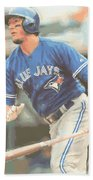 Toronto Blue Jays Troy Tulowitzki Beach Towel
