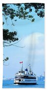 Toronto Island Ferry Beach Towel