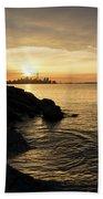 Toronto Lakeshore Vortex - Beach Towel