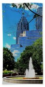 Toronto Wellington Street Park Beach Towel