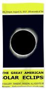 Totality II Beach Towel