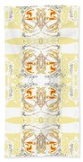 Totheme Yellow Beach Towel