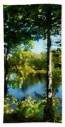 Touch Of Autumn Beach Towel