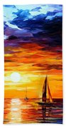 Touch Of Horizon Beach Towel