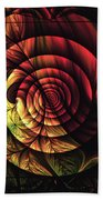 Touch Of Sunshine Abstract Beach Towel
