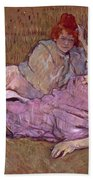 Toulouse Lautrec The Sofa Beach Towel