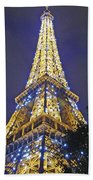 Tour Eiffel 2007 Beach Towel