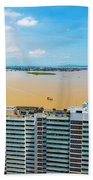 Tower And Guayas River Beach Towel
