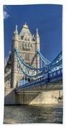 Tower Bridge 2 Beach Towel