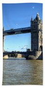 Tower Bridge 3 Beach Towel