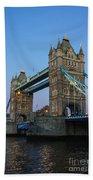 Tower Bridge 5 Beach Towel