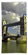 Tower Bridge I Beach Towel