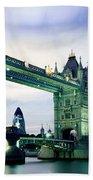 Tower Bridge - London Beach Towel
