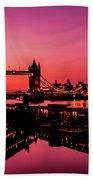 Tower Bridge, London. Beach Towel
