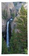 Tower Falls Beach Towel