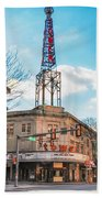 Tower Theater - Upper Darby Pa Beach Towel