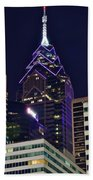 Towering Over Philly Beach Towel