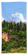 Towers Of The Alhambra Beach Towel