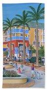 Town Center Abacoa Jupiter Beach Towel