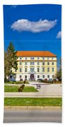 Town Of Ludbreg Square View Beach Towel
