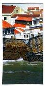 Town Of Porto Pim Beach Towel