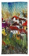 Town To Country Beach Towel