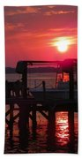 Toy On Hold Beach Towel by Karen Wiles