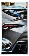 Toyota Ft-1 Concept Number 1 Beach Towel