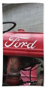Tractor, Ford  Beach Towel