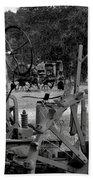 Tractor Graveyard Beach Towel