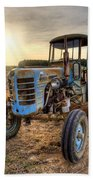 Tractor Beach Towel