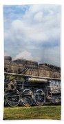 Train - Engine - Nickel Plate Road Beach Towel by Mike Savad