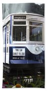 Trains Brookfield Zoo Trolley Car 141 Beach Towel