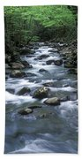 Tranquil Moments On Little Pigeon Creek Beach Towel